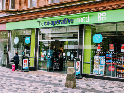 Co op front glasgow